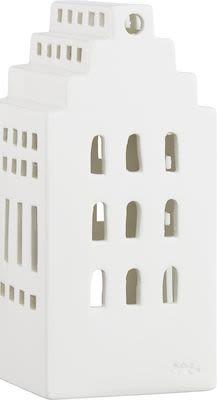 Kähler Urbania Lighthouse Manor, white ceramics H. 17 cm.