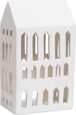 Kähler Urbania Lighthouse Church, white ceramics H18 cm.