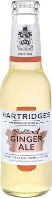 Hartridges Ginger Ale 24x20 cl. Btls.