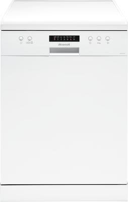 Brandt DFH13217W free-standing dishwasher A++ class, white