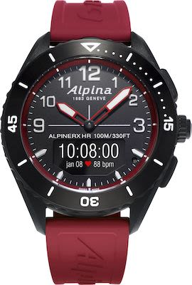 Alpina Gent's AlpinerX Alive Connected Quartz