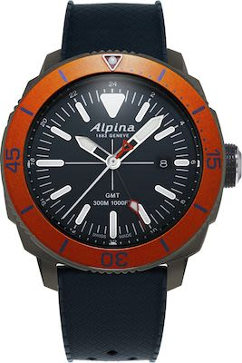 Alpina Gent's Seastrong Diver 300 GMT Quartz