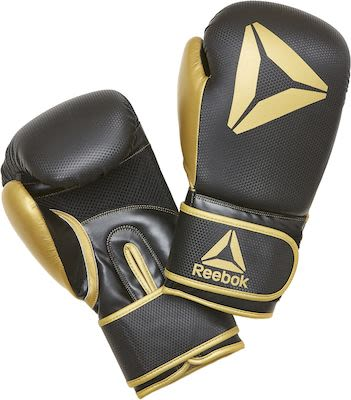 Reebok Retail 12 oz Boxing Gloves - Gold / BlackPLEASE CHECK AVAILABILITY WITH CUSTOMERSERVICE - DUE TO THE CORONA PANDEMIC DELIVERY TIME MAY OCCUR