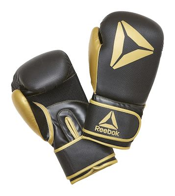 Reebok Retail 16 oz Boxing Gloves - Gold / BlackPLEASE CHECK AVAILABILITY WITH CUSTOMERSERVICE - DUE TO THE CORONA PANDEMIC DELIVERY TIME MAY OCCUR