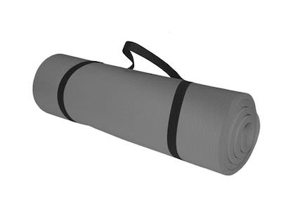 TITAN LIFE Mat Training  180x60x1,5cm. Color GreyPLEASE CHECK AVAILABILITY WITH CUSTOMERSERVICE - DUE TO THE CORONA PANDEMIC DELIVERY TIME MAY OCCUR