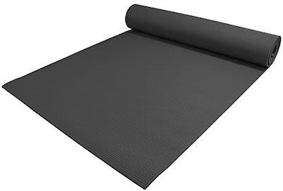TITAN LIFE Yoga Mat. Color: Black incl. Eyelet