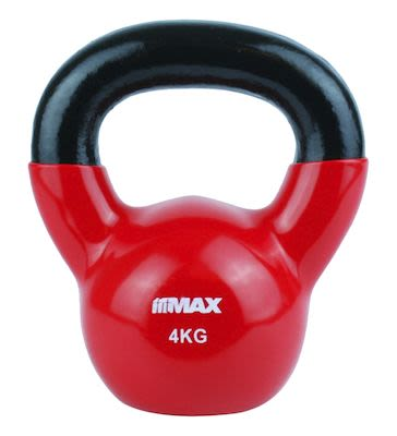 TITAN LIFE Kettlebell 4kg Red. Cast iron incl. VinylPLEASE CHECK AVAILABILITY WITH CUSTOMERSERVICE - DUE TO THE CORONA PANDEMIC DELIVERY TIME MAY OCCUR