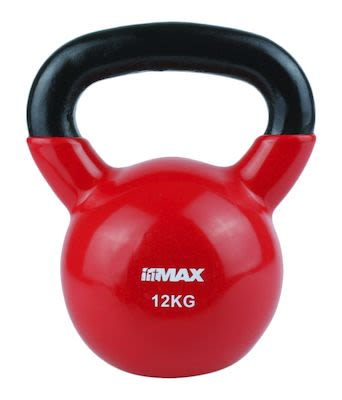 TITAN LIFE Kettlebell 12kg. Red. Cast iron incl. VinylPLEASE CHECK AVAILABILITY WITH CUSTOMERSERVICE - DUE TO THE CORONA PANDEMIC DELIVERY TIME MAY OCCUR