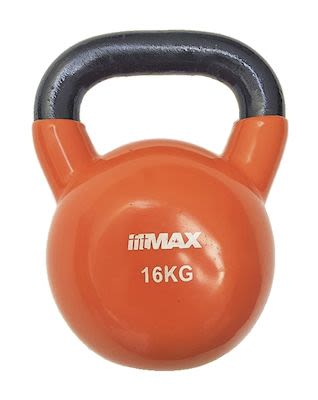 TITAN LIFE Kettlebell 16kg Orange. Cast iron incl. VinylPLEASE CHECK AVAILABILITY WITH CUSTOMERSERVICE - DUE TO THE CORONA PANDEMIC DELIVERY TIME MAY OCCUR