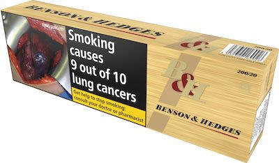 Benson & Hedges Gold 200 pcs