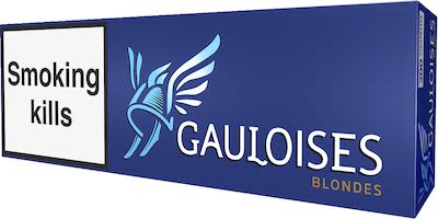 Gauloises Blondes Blue 200 pcs
