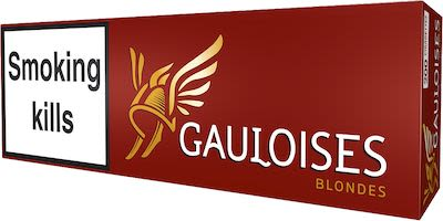 Gauloises Blondes Red 200 pcs