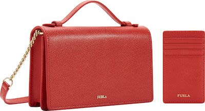 Furla Ladies Crossbody Incanto Leather Bag