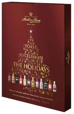 Anthon Berg Cordials Advent Calendar 375g