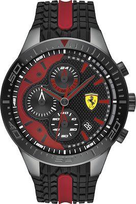 Scuderia Ferrari Redrev Gent's Watch