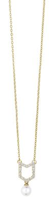 Misaki Ladies' Necklace Sway Gold