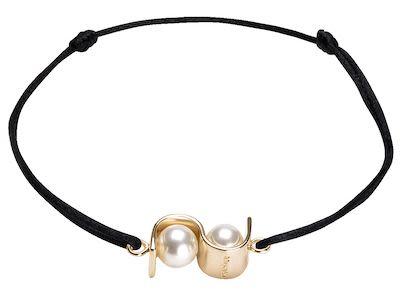 Misaki Ladies' Bracelet Initials Gold