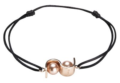 Misaki Ladies' Bracelet Initials Rose Gold