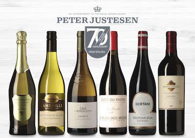 Peter Justesen 70 years anniversary box