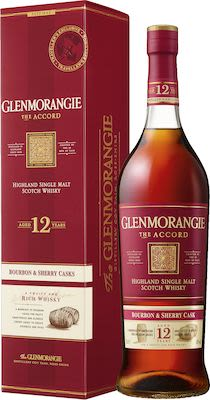 Glenmorangie The Accord 12 YO, 100 cl. - Alc. 43% Vol. In gift box.
