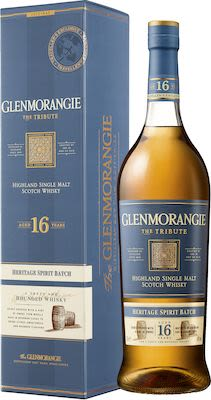 Glenmorangie The Tribute 16 YO, 100 cl. - Alc. 43% Vol. In gift box.