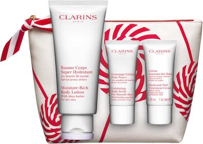 Clarins Moisture Rich Body Lotion Set