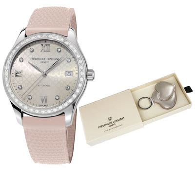 Frederique Constant Ladies Automatic - Pink Ribbon