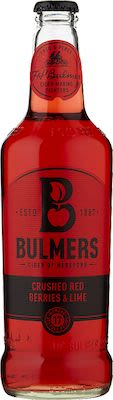 Bulmers Red Berries & Lime Cider 12x50cl. - Alc. 4% Vol. In blts.