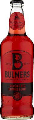 Bulmers Red Berries & Lime Cider 12x50cl. btls. - Alc. 4% Vol.