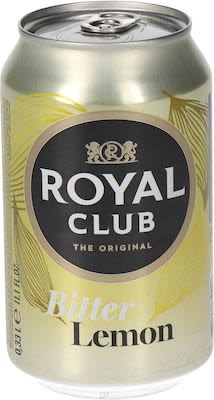 Royal Club Bitter Lemon 24x33 cl. cans.