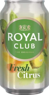 Royal Club Fresh Citrus 24x33 cl. cans.
