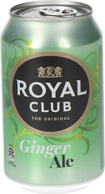 Royal Club Ginger Ale 24x33 cl. cans.