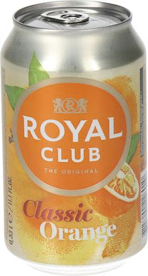 Royal Club Orange 24x33 cl. cans.