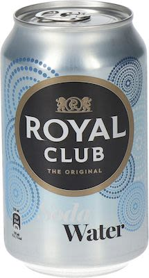 Royal Club Soda 24x33 cl. cans.