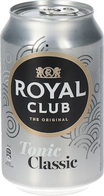 Royal Club Tonic 24x33 cl. cans.