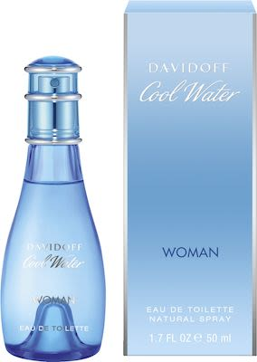Davidoff Parfums Cool Water Woman EdT 50 ml