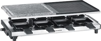 Severin RG 2373 Raclette-Grill with grill-stone and grill plate