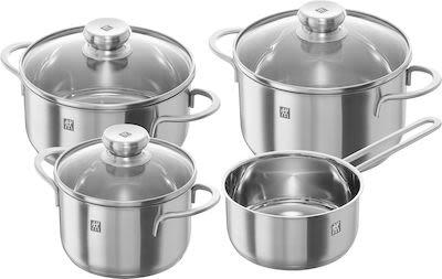 Zwilling 7-pcs Twin Nova cookware set