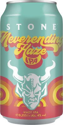 Stone Neverending Haze 24x35,5 cl. cans. - Alc. 4% Vol.