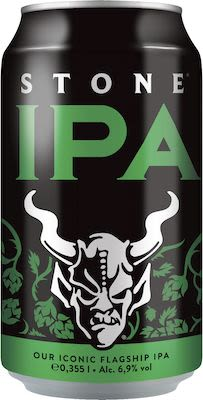 Stone IPA 24x35,5 cl. cans. - Alc. 6,9% Vol.