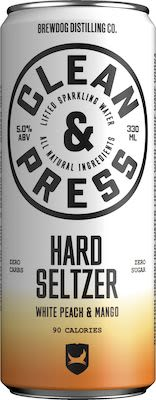 Brewdog Clean and Press Mango White Peach 12x33 cl. cans. - Alc. 5% Vol.