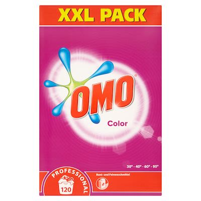 OMO Washing Powder Prof.Colour Care 120 washes, 8,4 kg