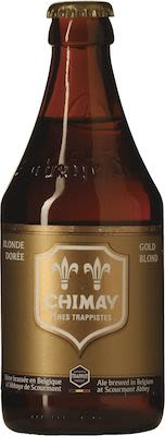 Chimay Gold 24x33 cl. btls. - Alc. 4.8% Vol.