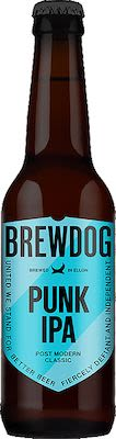 Brewdog Punk IPA 12x33 cl. blts. - Alc. 5.4% Vol.
