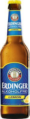 Erdinger wheat beer alcohol free lemon 12x33 cl. btls. - Alc. 0% Vol.