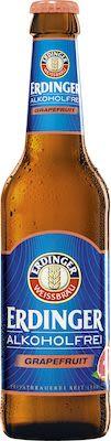Erdinger wheat beer alcohol free grapefruit 12x33 cl. btls. - Alc. 0% Vol.