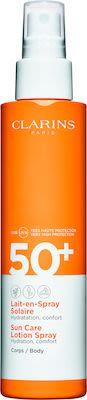 Clarins Sun Care Body Body Sun Care Lotion Spray SPF 50+ 150 ml