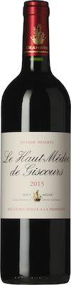 2015 Château Giscours Le Haut-Médoc de Giscours 75 cl. - Alc. 13% Vol.