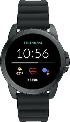 Fossil FTW4047 Smartwatches Black Silicone
