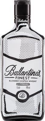 Ballantine's Finest, Joshua Vides Limited Edition 100 cl. - Alc. 40% Vol.